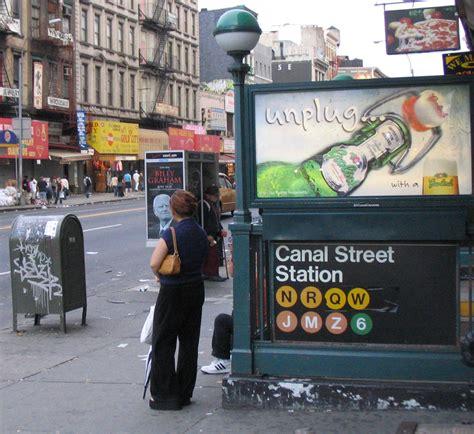 china doll on manhattan canal new york city subway
