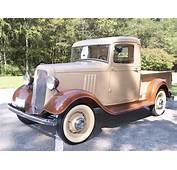 1934 CHEVROLET SHORT BED PICKUP  44834