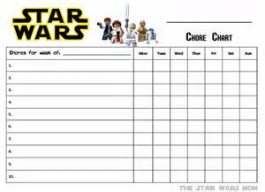 free chore chart template lego wars free printable chore chart to do with the