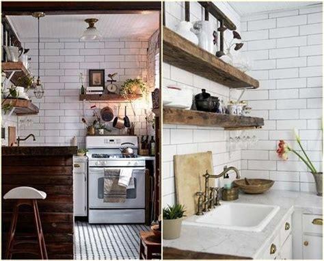 Increíble  Estanterias Rusticas De Madera #3: 10-trucos-para-decorar-cocinas-rusticas-10.jpg