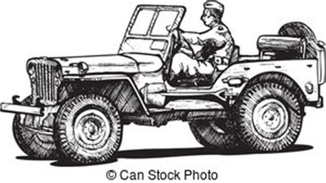 how to draw a army jeep jeep illustrations and clipart 1 996 jeep royalty free