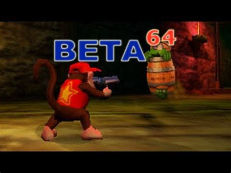 dk licence to dream beta64 donkey kong 64 youtube