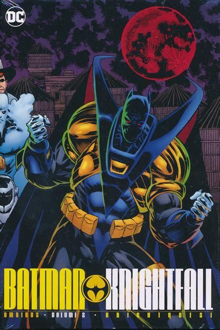 libro batman knightfall omnibus hc batman knightfall omnibus hc vol 02 discount comic book service