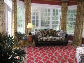 Curtains In Sunroom Sunroom Decor Ideas Sunroom Window Treatment Ideas Vintage Style Comfortable Sofa Plus