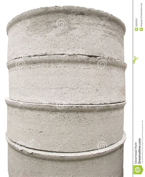 concrete chamber sections concrete manhole chamber section royalty free stock