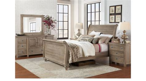 prentice sleigh bed w storage 5pc bedroom set queen white summer grove gray 5 pc queen sleigh bedroom traditional