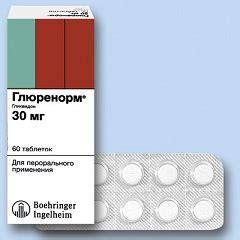Glurenorm Tablet глюренорм инструкция по применению показания дозы аналоги таблеток