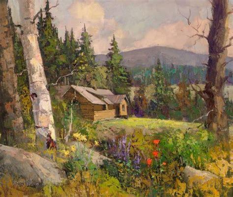 Beautiful Landscape Oil Paintings By Sean Wallis Art Beautiful Landscape Paintings