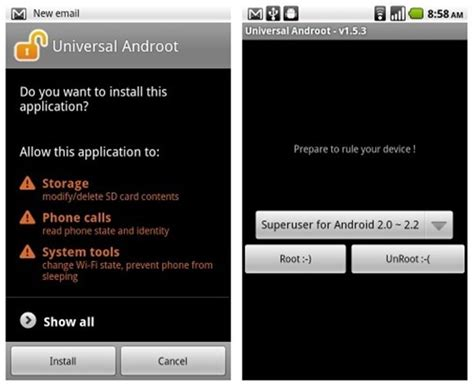 universal androot 1 6 2 apk how to root android devices with universal androot app