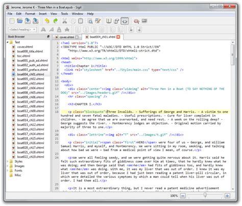 epub format editor sigil an open source editor for epub formatted ebooks