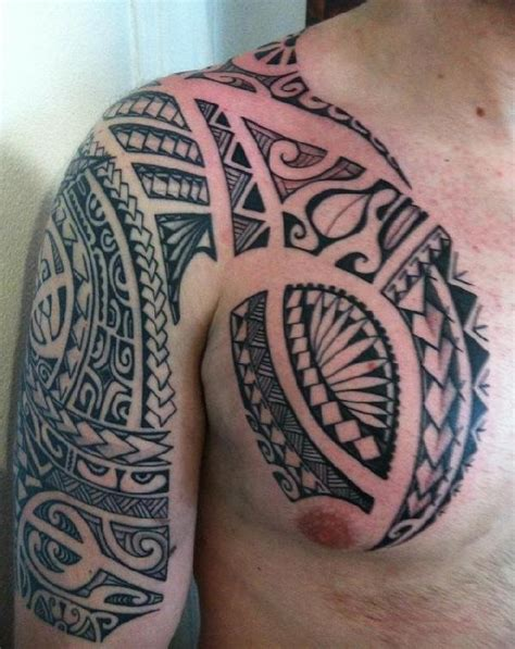 Tatouage Polynsien Epaule Finest Polynesian Tribal Tattoo With