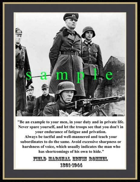 field marshal the and of erwin rommel books quotes by erwin rommel like success