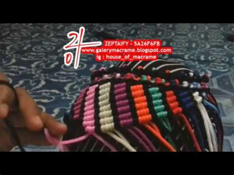 youtube tutorial membuat tas tali kur tutorial membuat tas tali kur motif lilit youtube