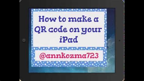 how to create a qr code with i nimga in the