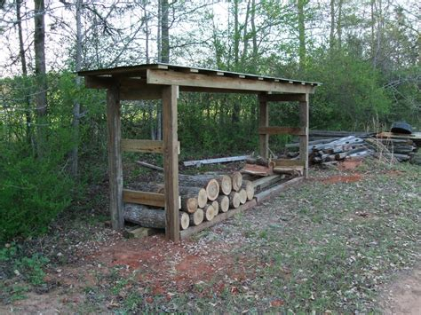 How To Make A Wood Shed by Free Plans For Building A Wood Storage Shed Custom House