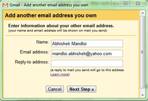 Search Gmail Email Addresses Change From Address In Gmail