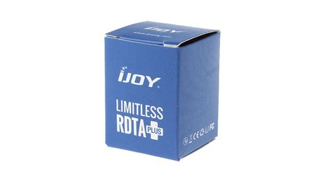 Ijoy Limitless Rdta Plus Glass 2 00 authentic ijoy limitless plus rdta atomizer replacement glass tank at fasttech worldwide