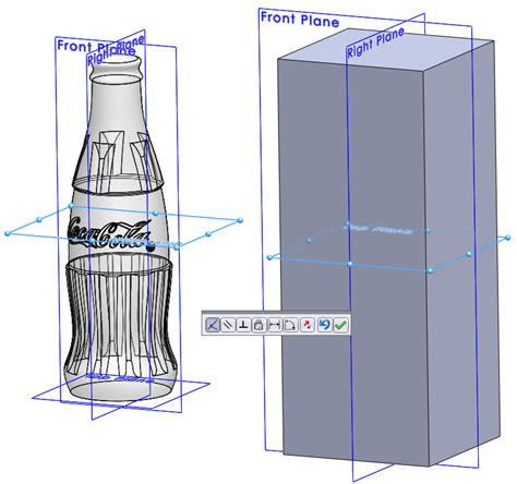 tutorial solidworks bottle how to draw a coke bottle mold in solidworks