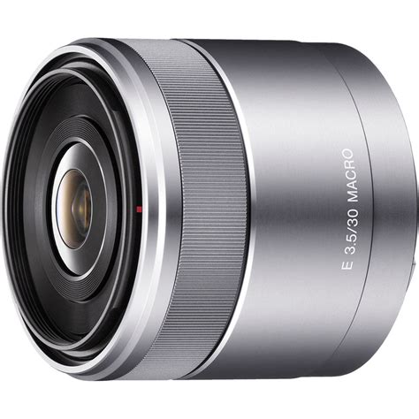 Lensa Sony Nex 5 sony 30mm f 3 5 macro lens for alpha nex cameras sel30m35 b h