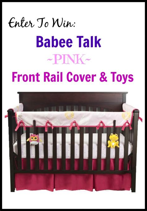 Are Crib Rail Covers Safe by Babee Talk Eco Teether Crib Rail Cover Toys Giveaway