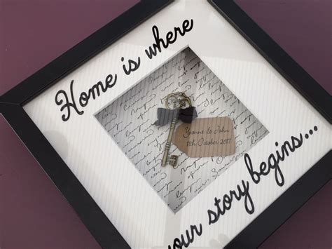 gift for new home personalised new home gift