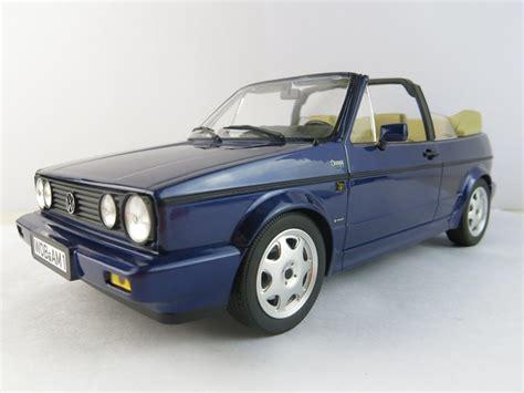 Golf Modellauto by Vw Golf 1 Cabrio Bel Air 1992 Blau Metallic Modellauto 1
