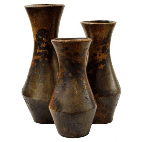 Vase Set Of 3 by Aracena Vases Set Of 3