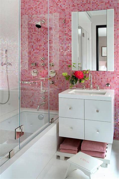 Badezimmer Fliesen Rosa by Pink Bathroom Tiles Design Ideas