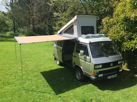 vanagon awning vw t25 t3 vanagon arb 2500mm x 2500mm awning with cvc