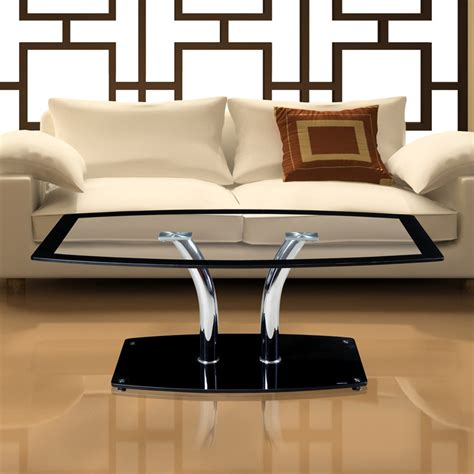 Glass Side Tables For Living Room Creative Ikea Coffee Table Glass Coffee Table Sofa Living Room Furniture Side Tables Transparent