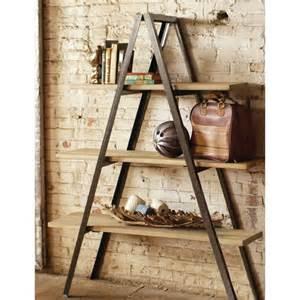 Retail Bookshelves by Folding A Frame Shelf