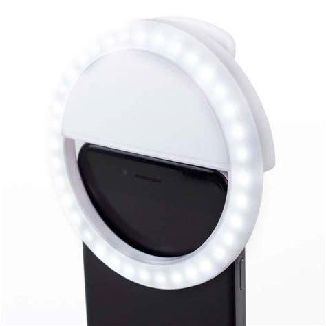 Selfie Ring Light Charge the ultra bright selfie led ring light for smartphones