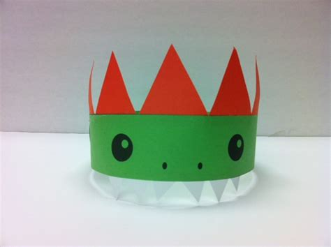 How To Make A Dinosaur Hat Out Of Paper - s more stuff swarthmore library dinosaur storytime