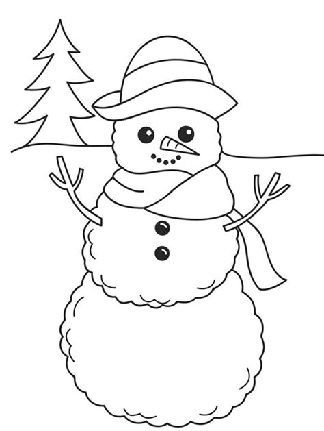 cute snowman coloring pages frosty snowman coloring pages for kids womanmate com