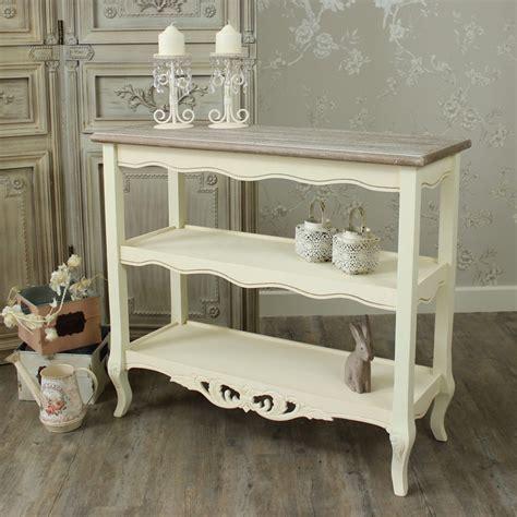 3 shelf console table range 3 shelf console table melody maison 174