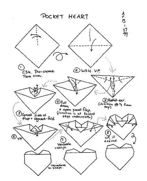 How To Make Paper Hearts Step By Step - how to make a out of paper step by step easy with