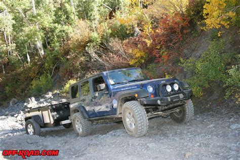 jeep offroad trailer jeep cer trailer review off road com