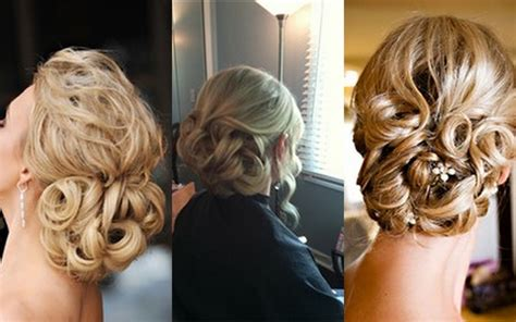 curly hairstyles pulled back curly pulled back wedding hair and makeup pinterest