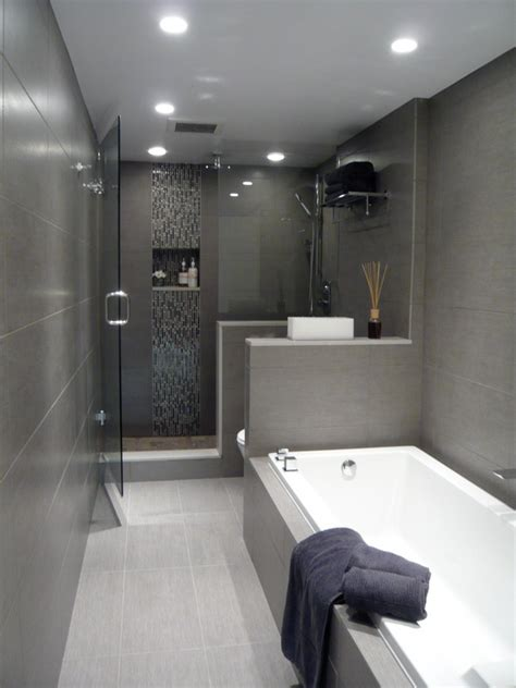 long narrow bathtub great layout for long narrow bathroom modern clean