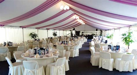 Hochzeit Zelt Deko by Dekoration Dach Wand Zelte Und Leichtbauhallen Leube