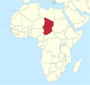 Chad Africa Map by File Chad In Africa Mini Map Rivers Svg Wikimedia