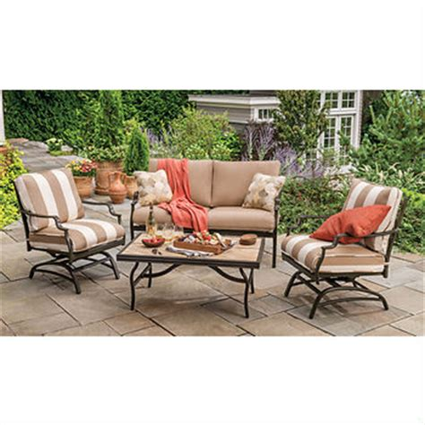 580 off patio furniture set other great sales at bjs