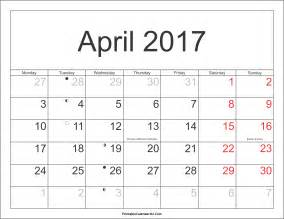 Calendar 2018 Aprilie April 2017 Calendar Printable With Holidays Pdf And Jpg