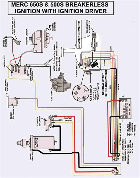 1974 mercury 850 thunderbolt ignition wiring diagram 52
