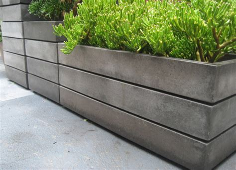 concrete planters 13 contemporary concrete planters award winning