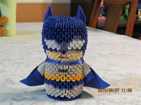 3d origami batman tutorial 3d origami batman by esmeraldaarribas on deviantart