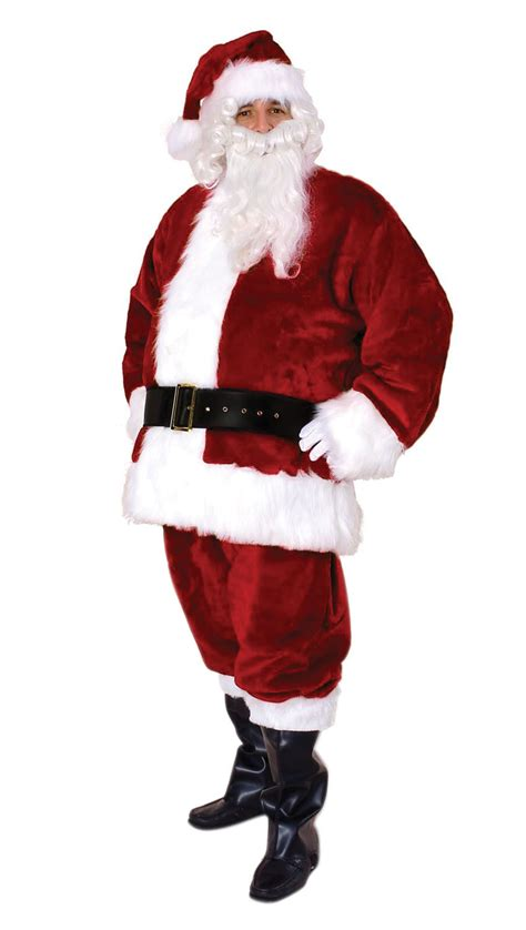 sunnywood party celebration men s premium santa claus suit