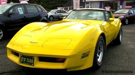 80 stingray corvette chevrolet corvette v8 stingray 1980 5 7l exhaust lound