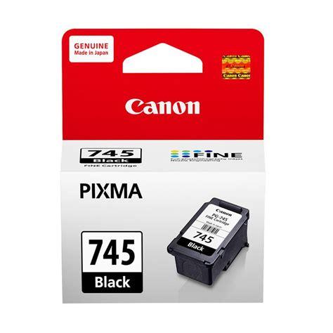Refill Tinta Printer Canon Mg2570 Jual Canon Pg 745 Black Tinta Printer Harga