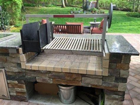 custom backyard grills custom countertop parrilla grill insert outdoor grills philadelphia by gaucho grills